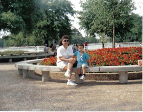 (left to right: Mom, Stockholm Syndrome Survivor)